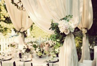 Decorations for Outdoor Weddings in LA image